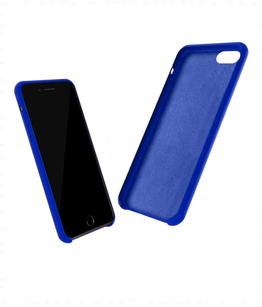 Silicone Case Blue - Liquid Silicone Case for iPhone 7 Plus