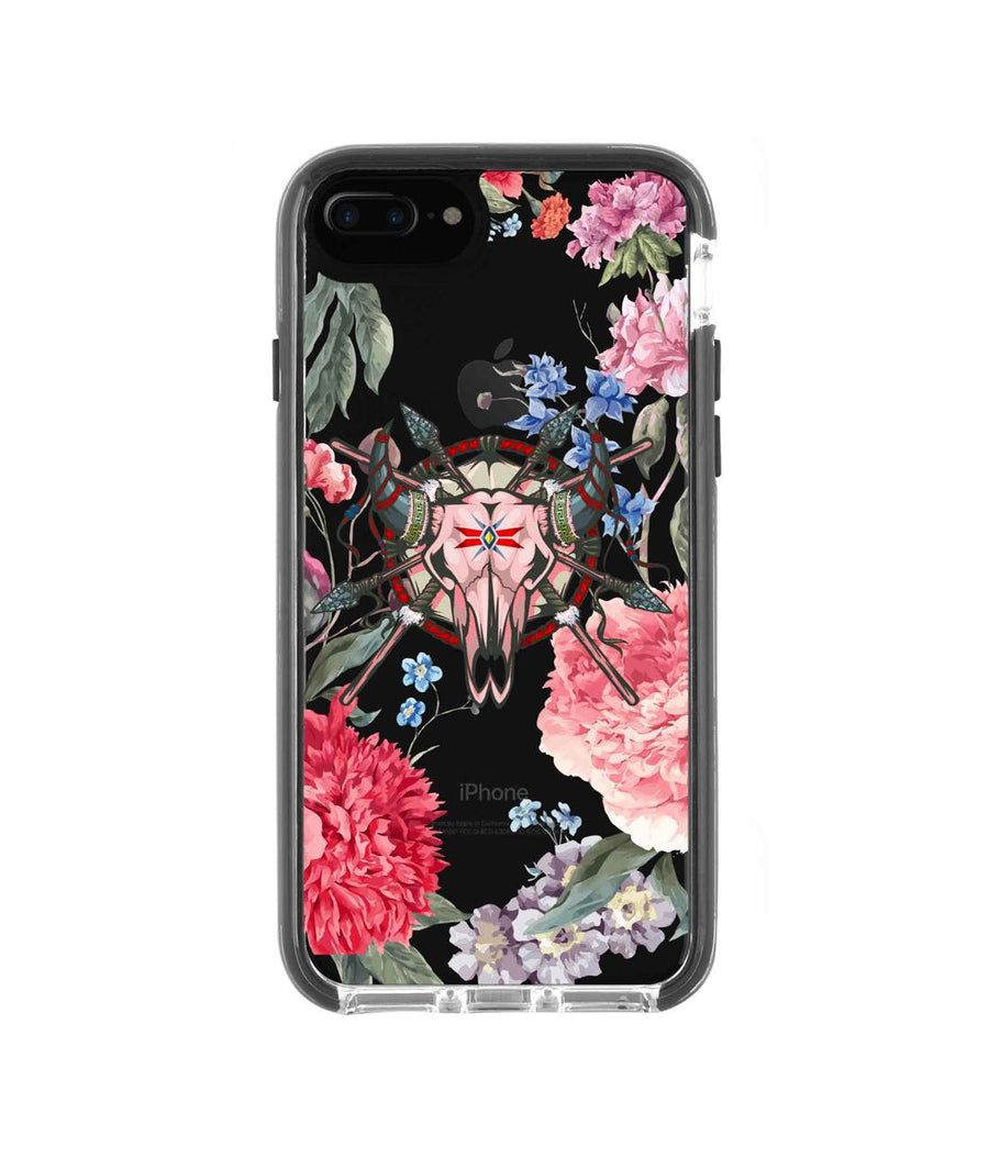 Floral Symmetry - Extreme Case for iPhone 7 Plus