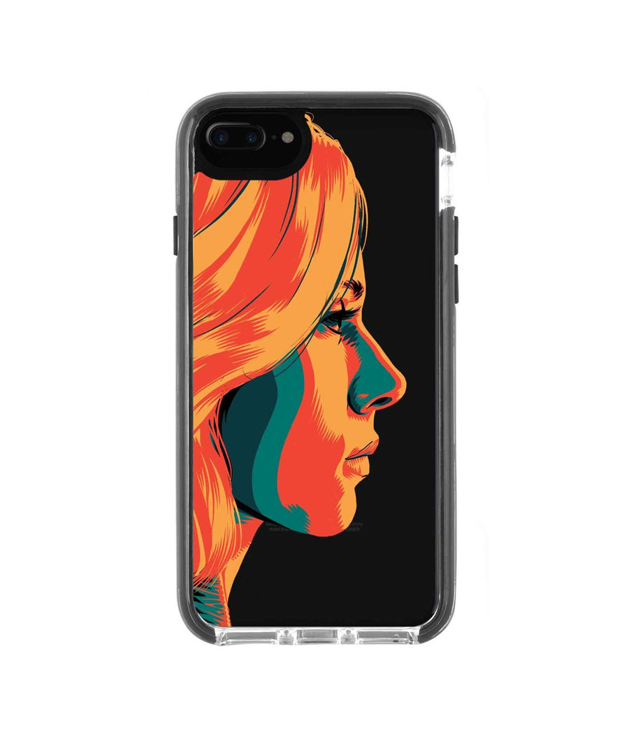 Illuminated Black Widow - Extreme Case for iPhone 7 Plus