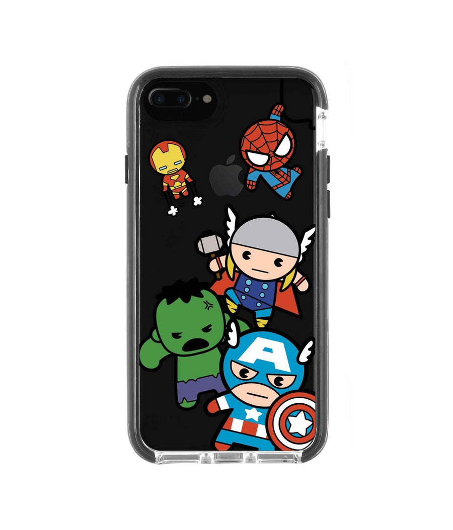 Kawaii Art Marvel Comics - Extreme Case for iPhone 7 Plus