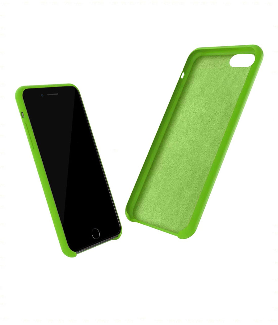 Silicone Case Leaf Green - Liquid Silicone Case for iPhone 8