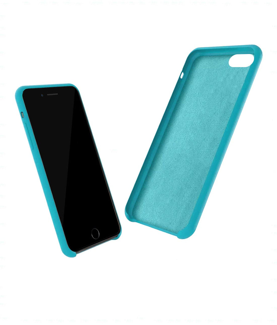 Silicone Case Sky Blue - Liquid Silicone Case for iPhone 8