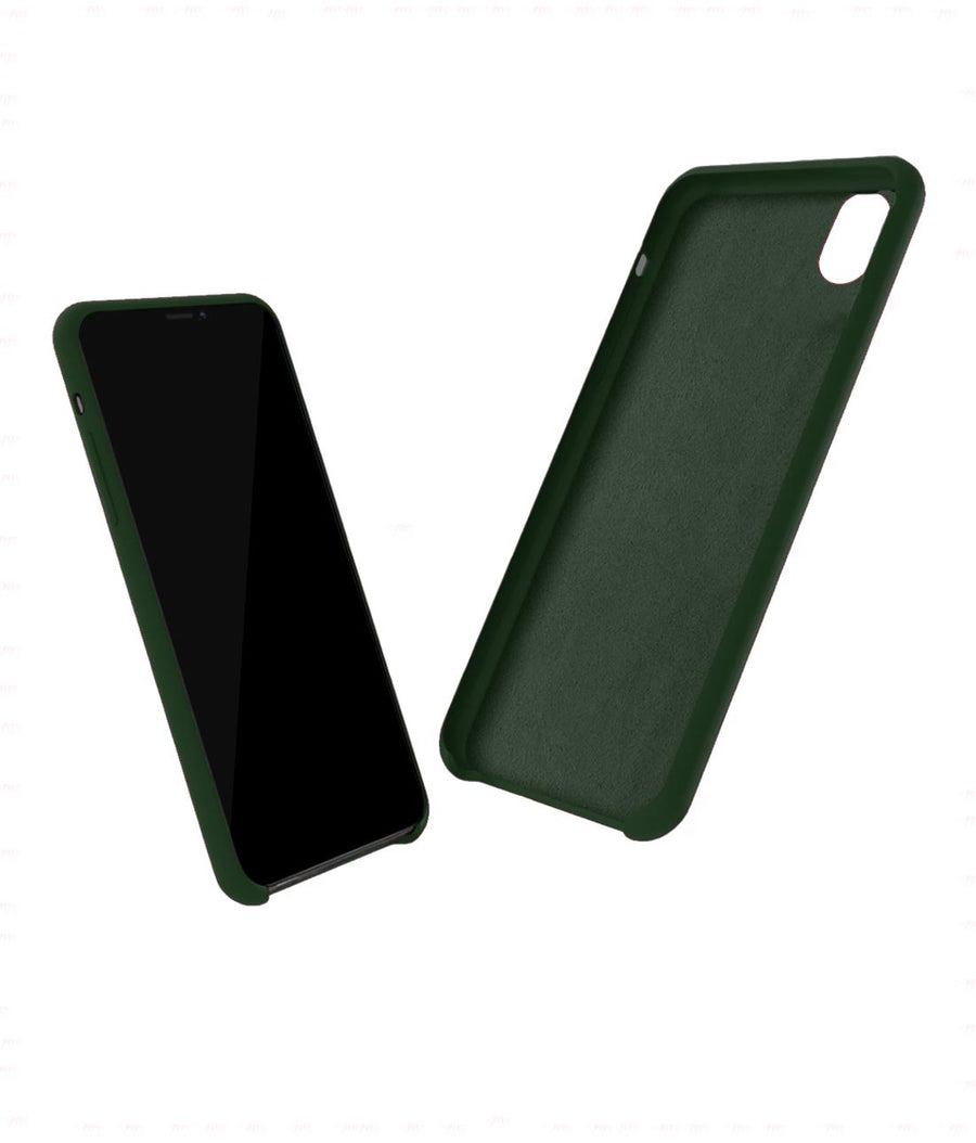Silicone Case Olive Green - Liquid Silicone Case for iPhone XR