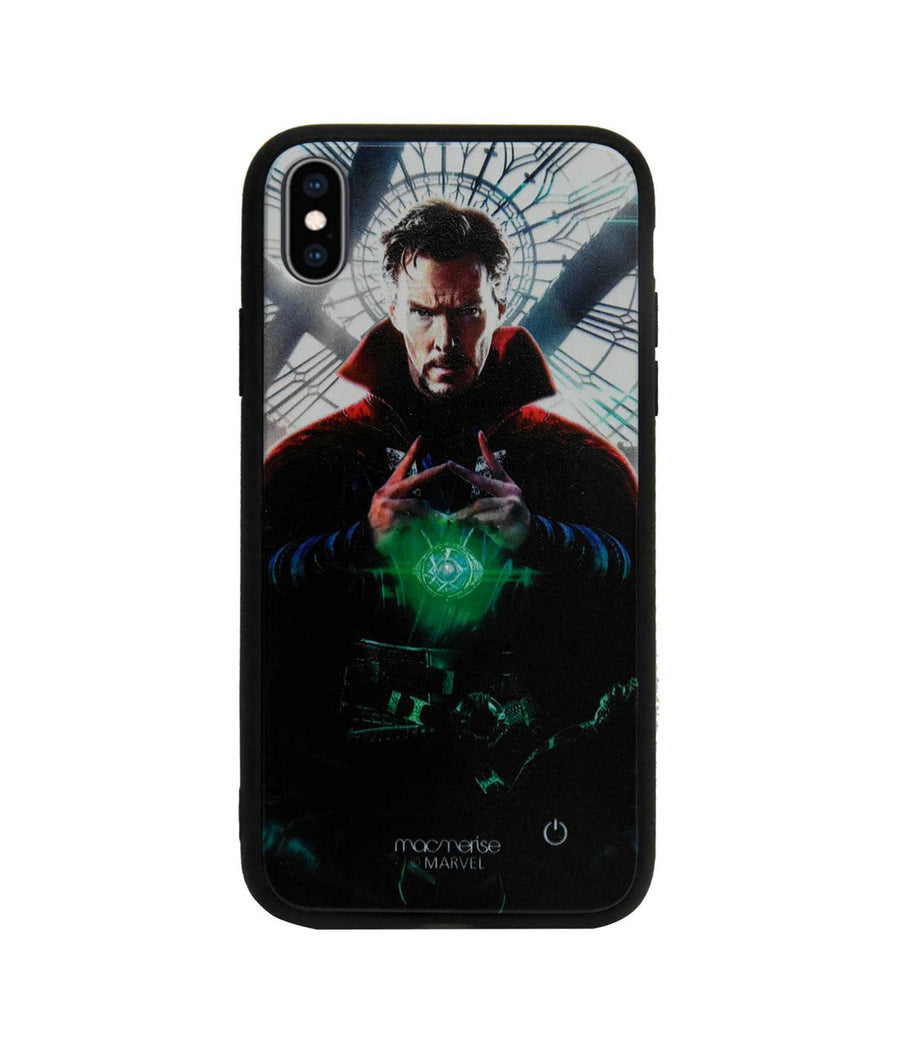 Eye of Agamotto - Lumous LED Case for iPhone XS Max