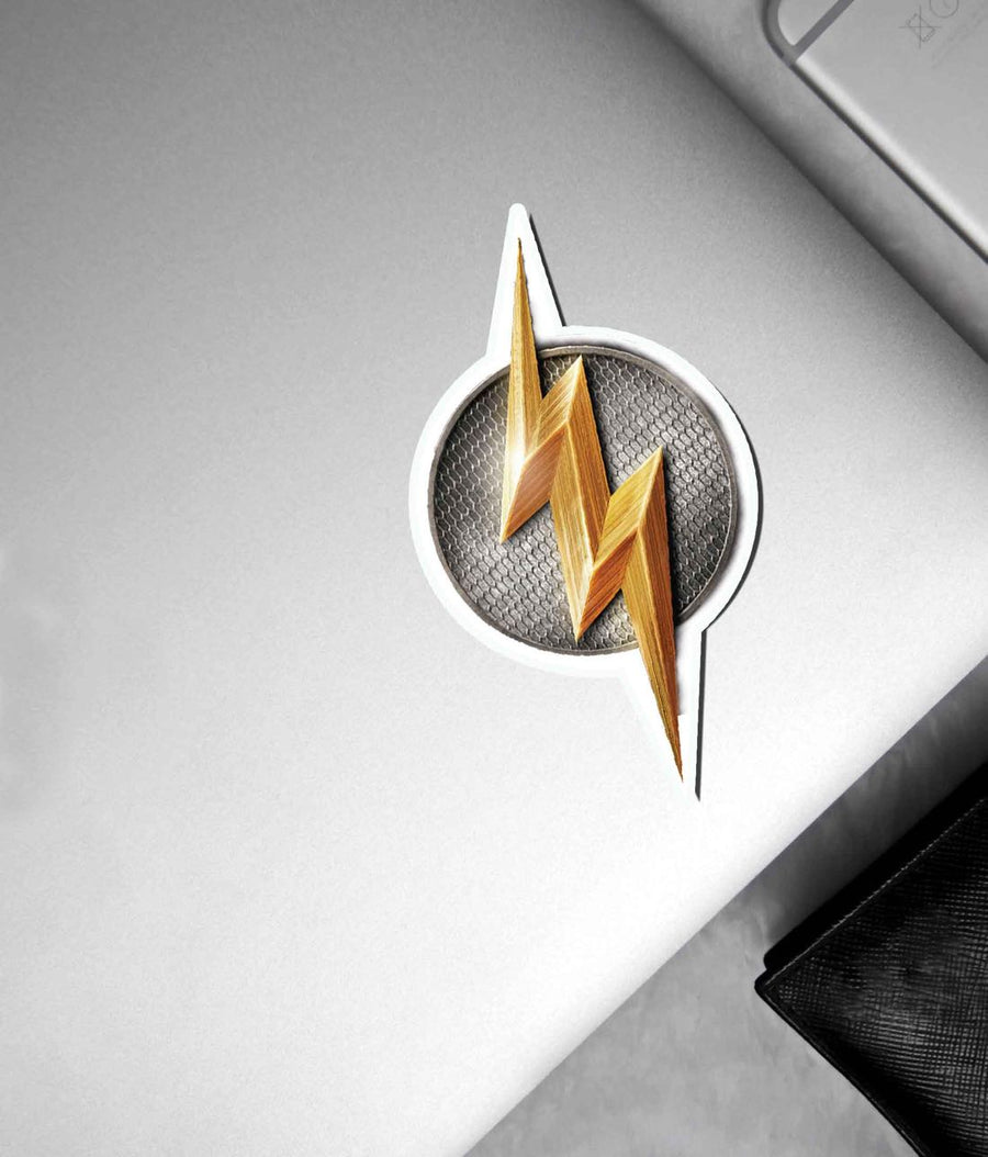 Metallic Flash Logo - Stickon Small