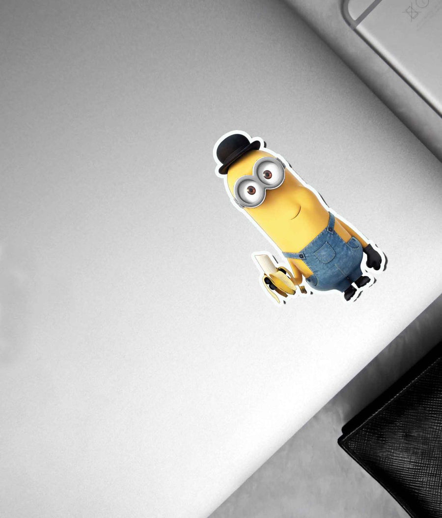 Minion Banana Bites - Stickon Small