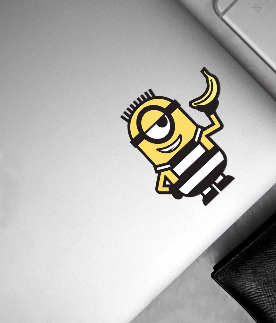 Minion Life Banana - Stickon Small