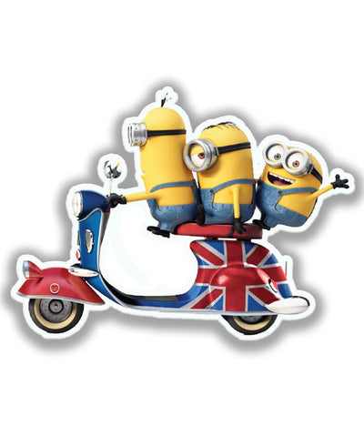 Minions Ride - Stickon Small