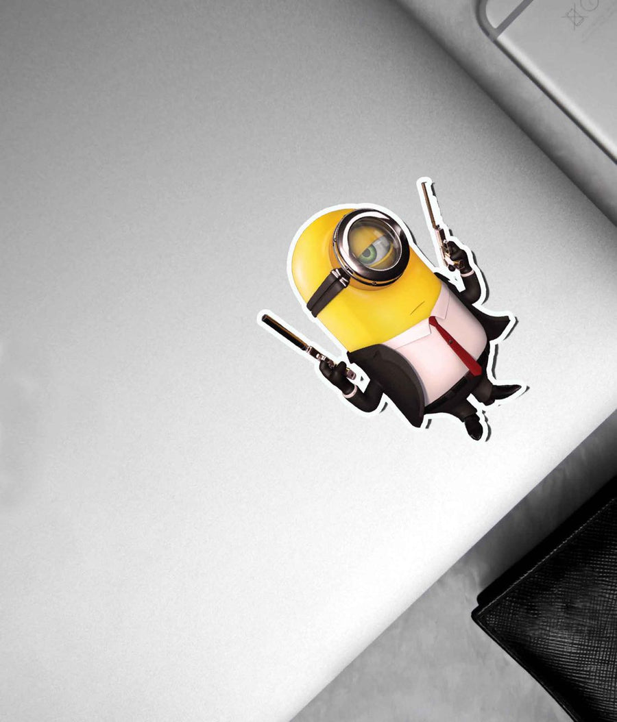 Minions Suit Up - Stickon Small