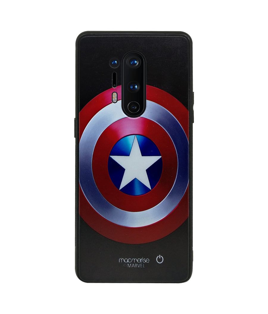 Classic Captains Shield - Lumous LED Case for OnePlus 8 Pro
