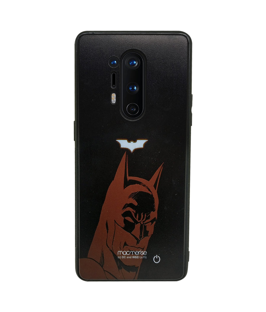 Silhouette Batman - Lumous LED Case for OnePlus 8 Pro