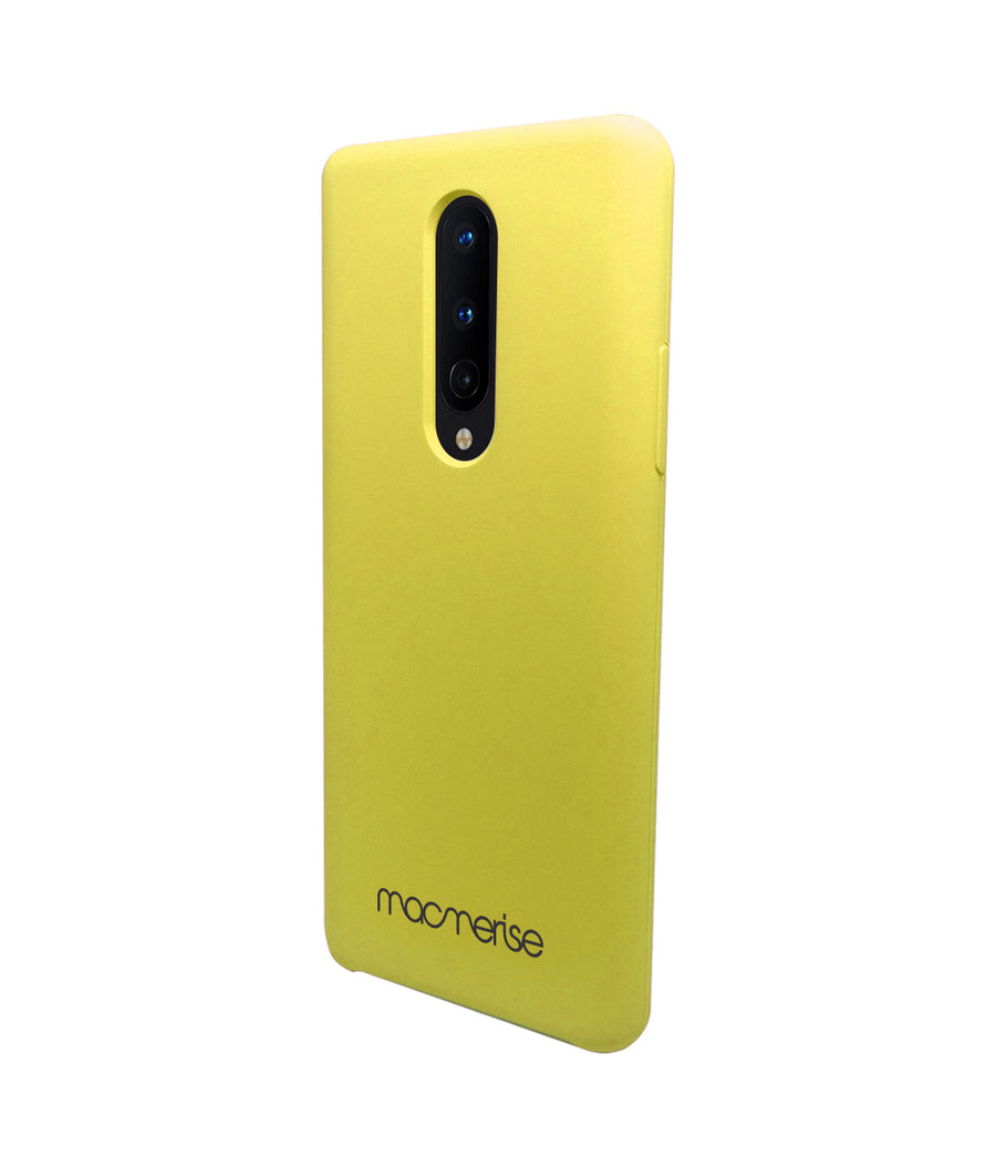 Silicone Case Pineapple Yellow - Liquid Silicone Case for OnePlus 8