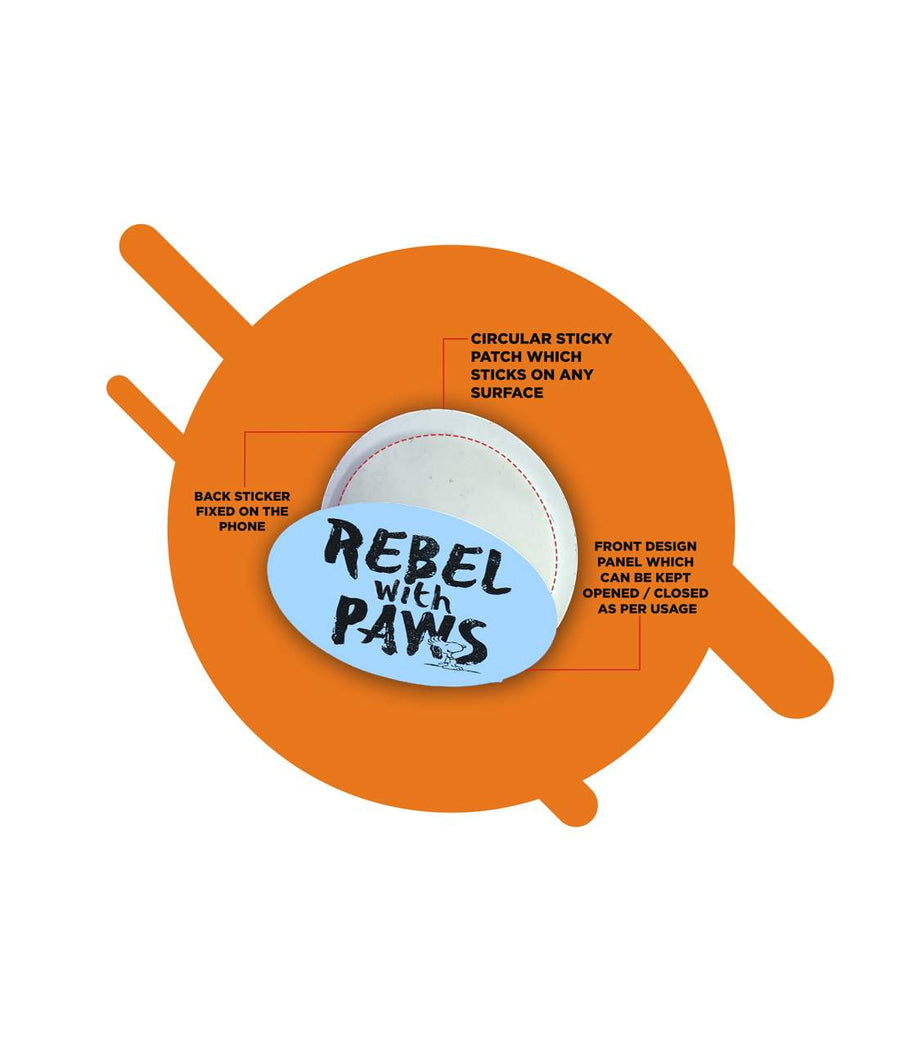 Rebel With Paws - Macmerise Sticky Pad