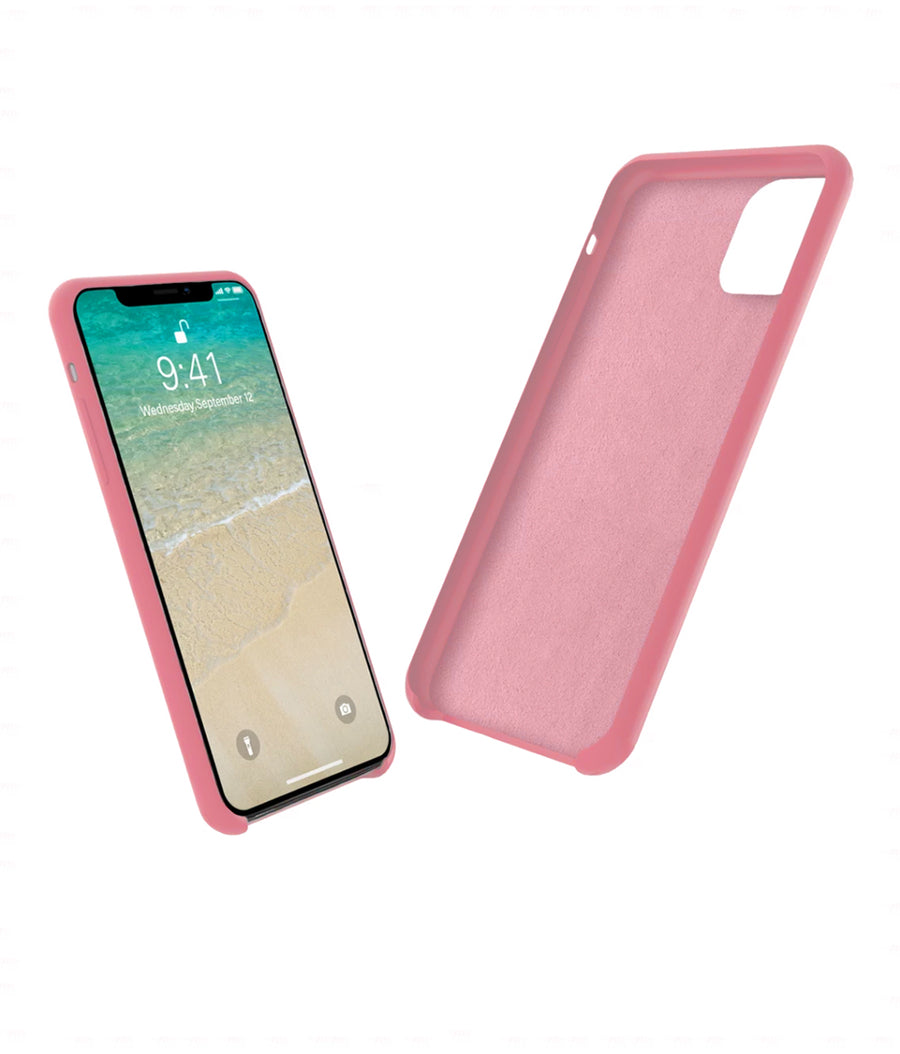 Silicone Case Blush Pink - Liquid Silicon Case for iPhone 11 Pro