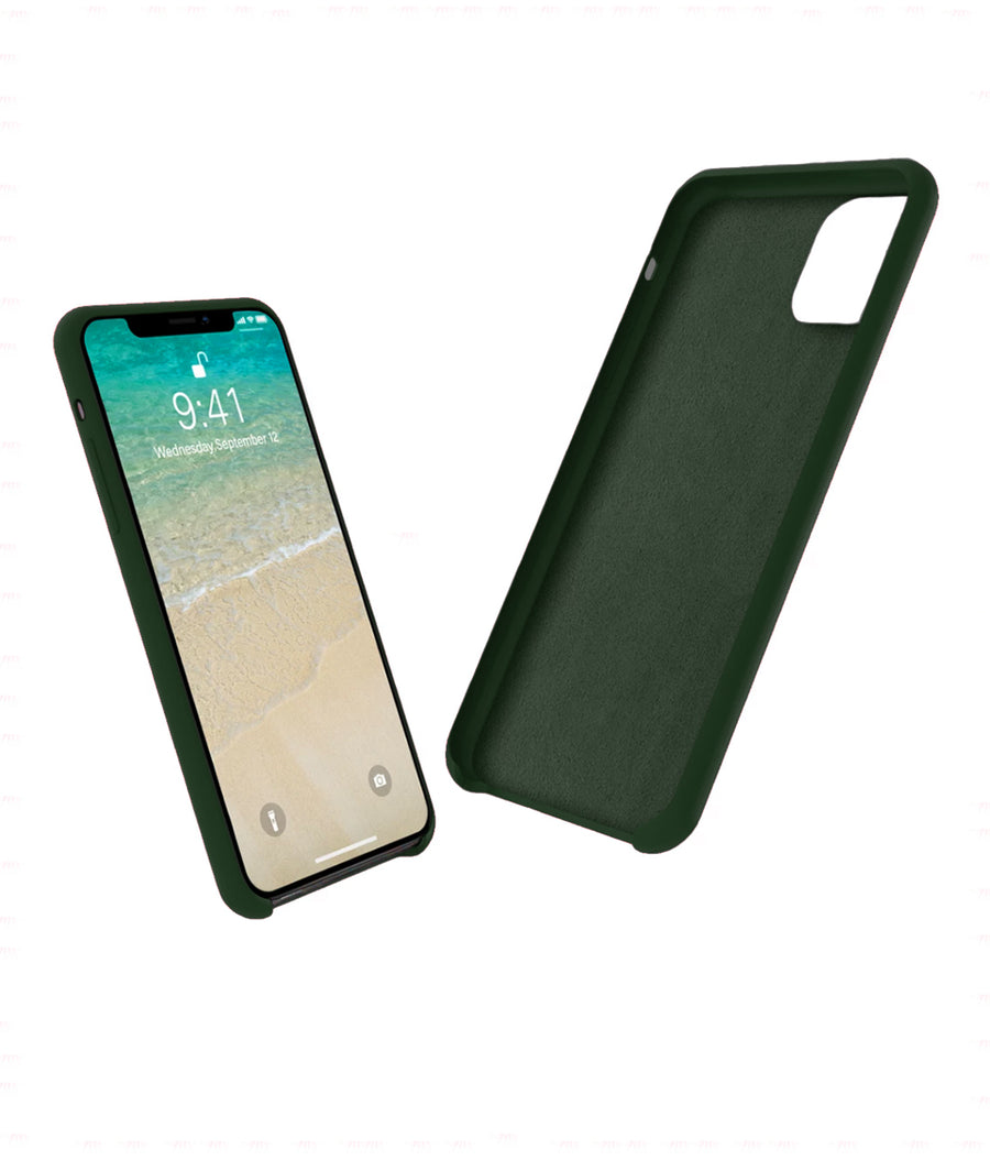 Silicone Case Olive Green - Liquid Silicon Case for iPhone 11 Pro