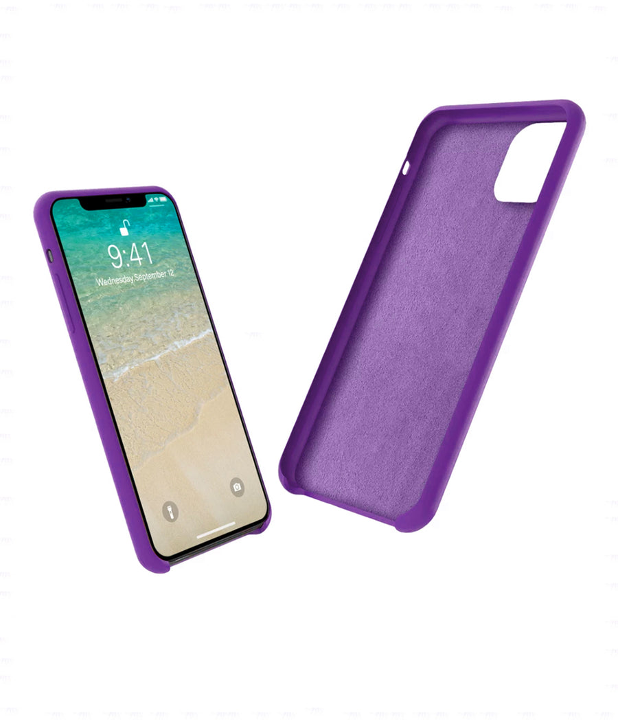Silicone Case Purple - Liquid Silicon Case for iPhone 11