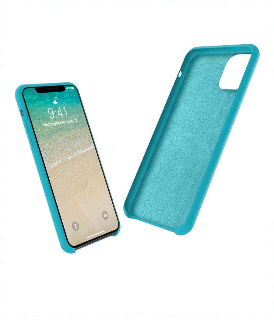 Silicone Case Sky Blue - Liquid Silicon Case for iPhone 11