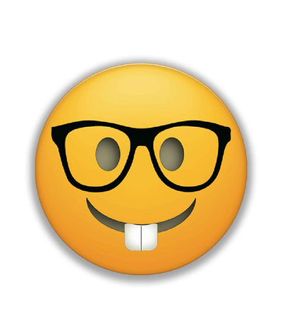 Smiley Nerd - Stickon Small