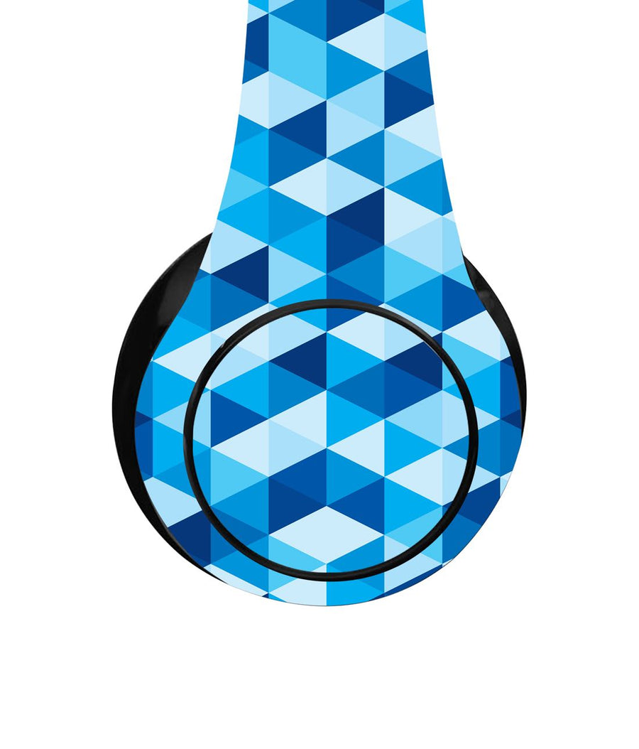 Blue Triangles - Decibel Wireless On Ear Headphones
