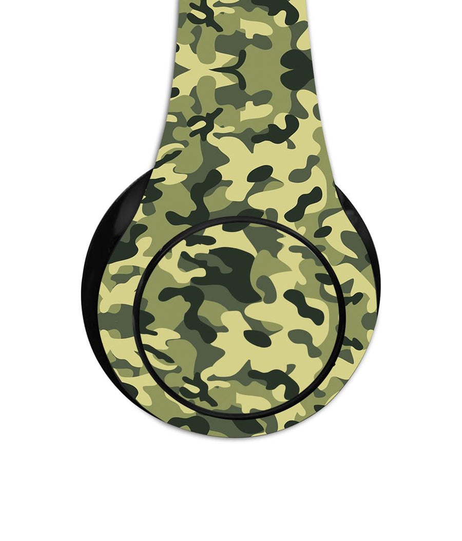 Camo Effect Green - Decibel Wireless On Ear Headphones