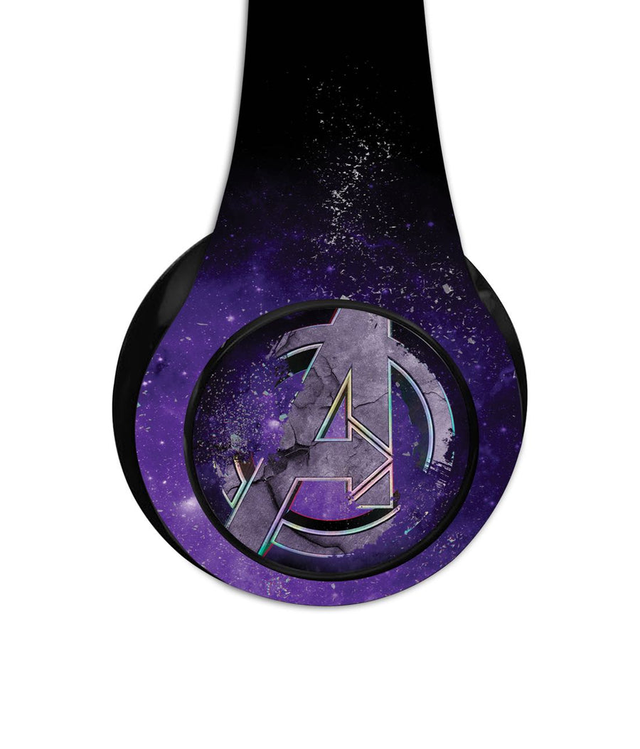 Endgame Logo Purple - Decibel Wireless On Ear Headphones