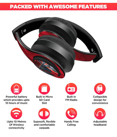 Iconic Spiderman - Decibel Wireless On Ear Headphones