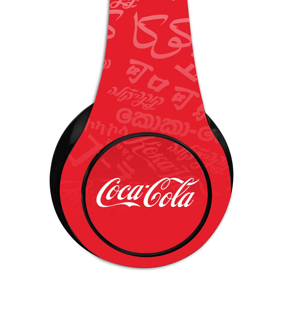 I Speak Coke Red - Decibel Wireless On Ear Headphones