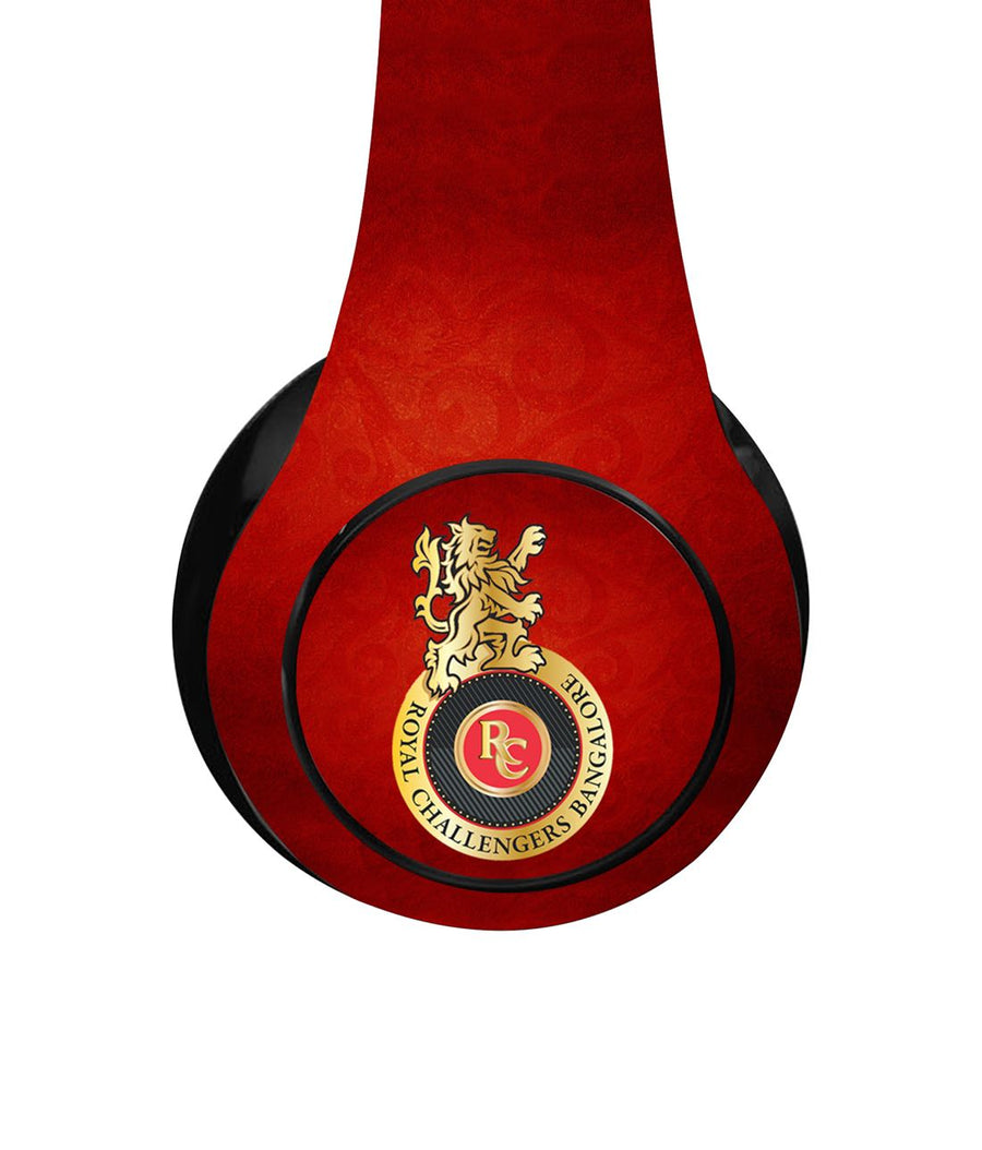 RCB Emblem - Decibel Wireless On Ear Headphones