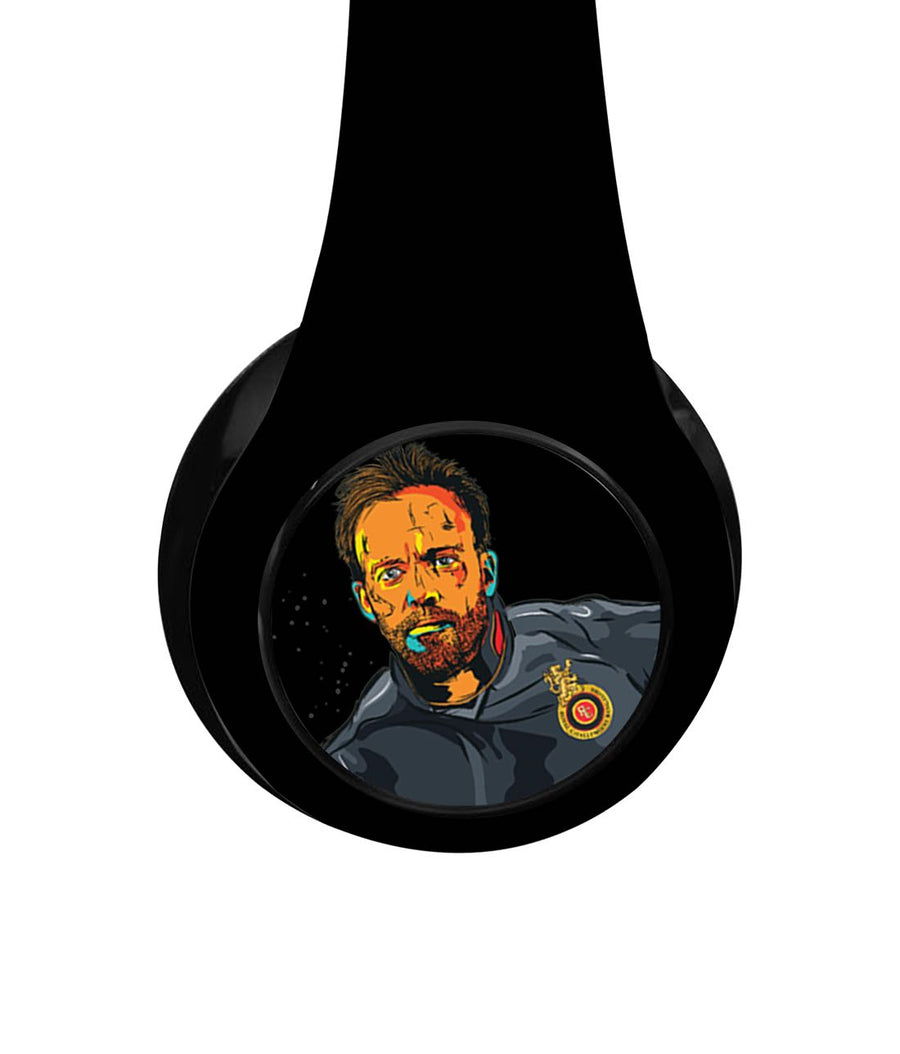 Splash Illustration ABD - Decibel Wireless On Ear Headphones