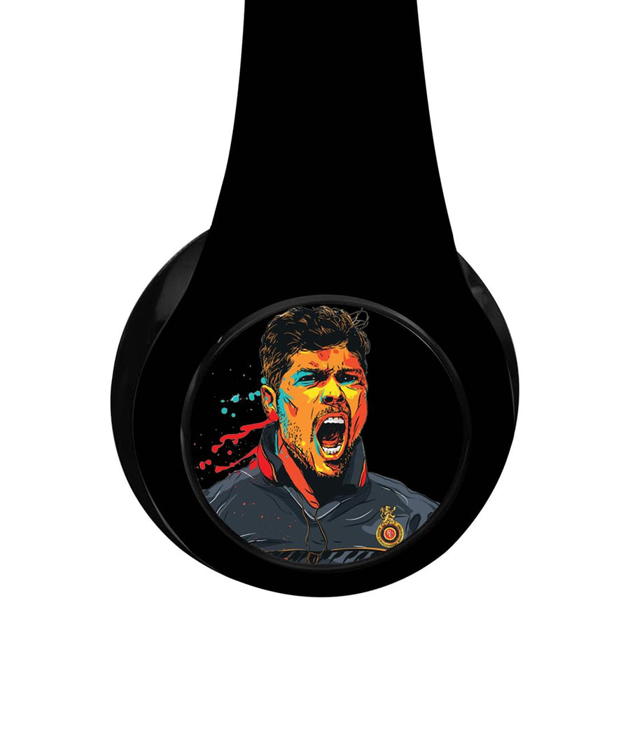Splash Illustration Umesh - Decibel Wireless On Ear Headphones
