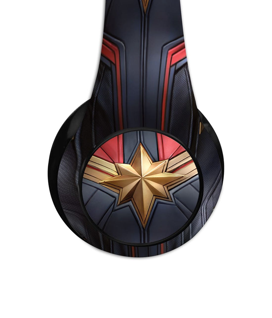 Suit up Captain Marvel - Decibel Wireless On Ear Headphones