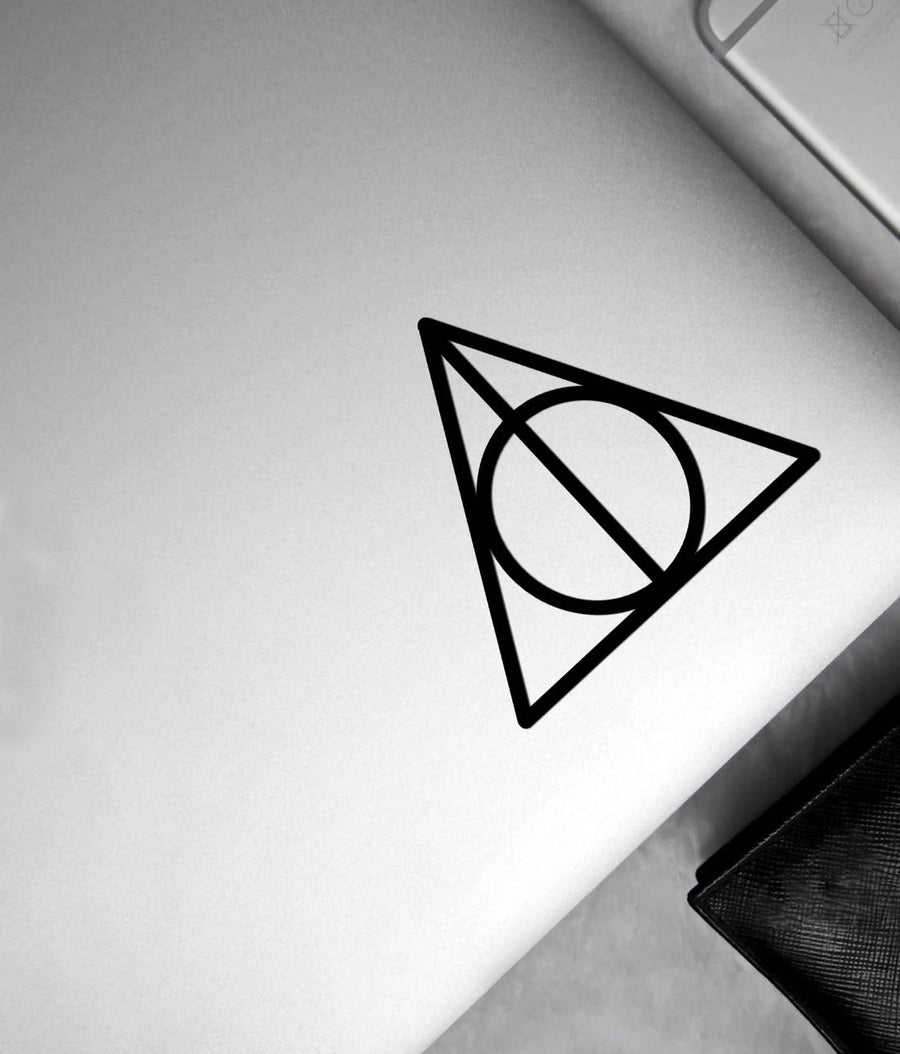 The Deathly Hallows - Stickon Small