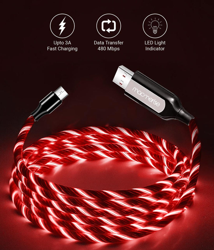 Macmerise Illume Red - Micro USB Cables