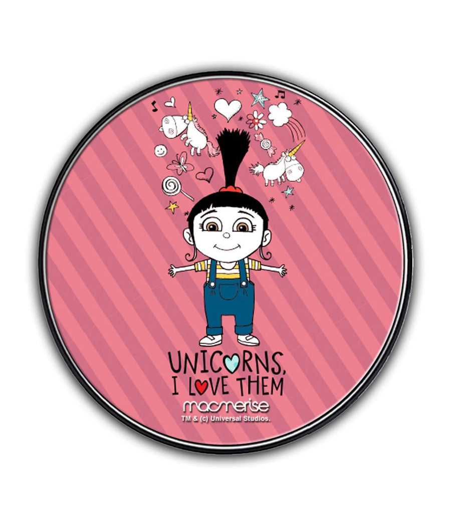Agnes Unicorn Love - Qi Compatible Pro Wireless Charger