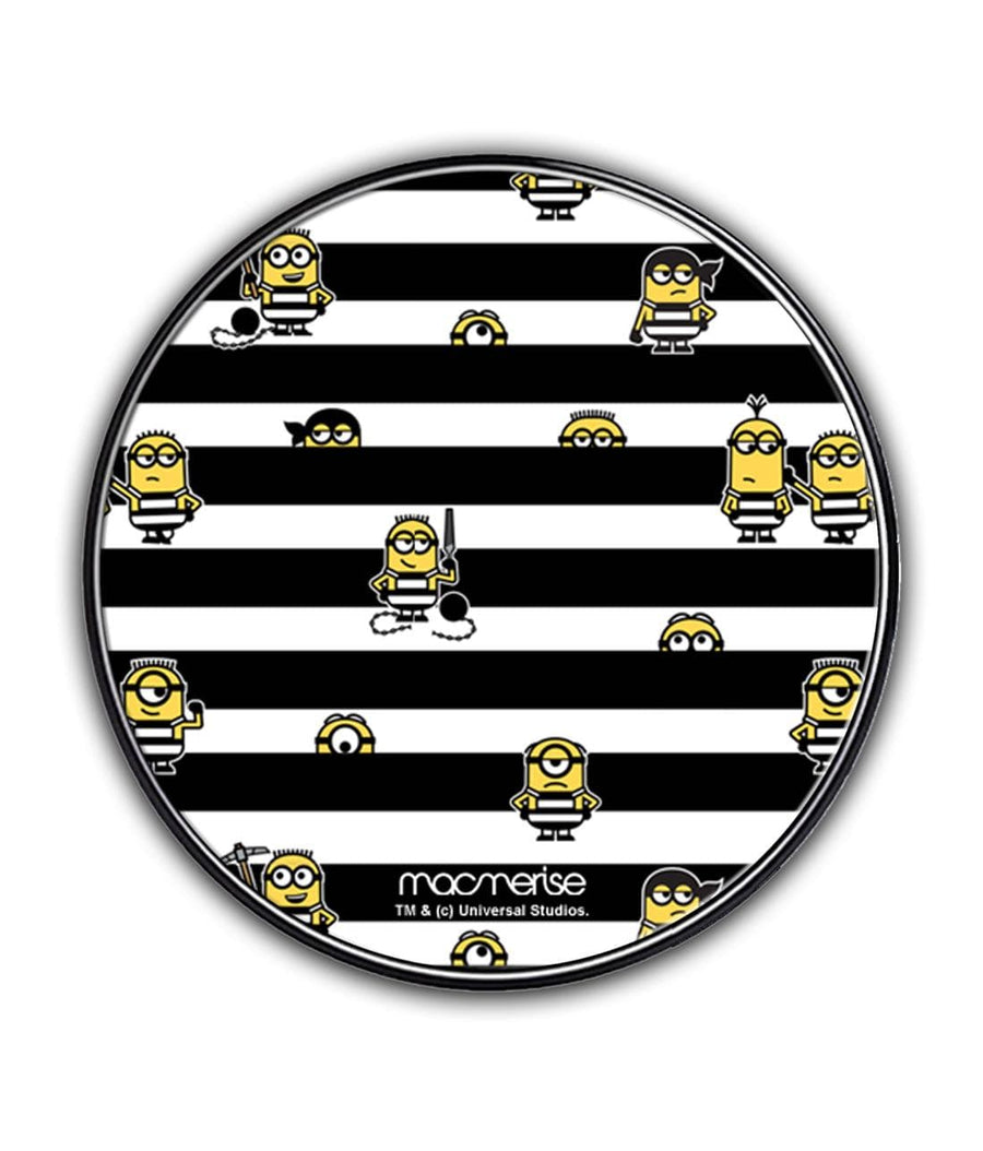 Black Stripes Minions - Qi Compatible Pro Wireless Charger