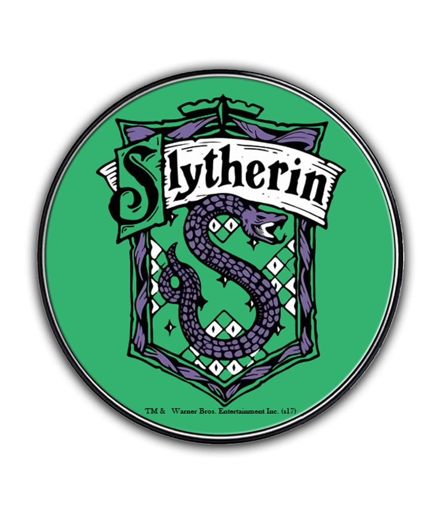 Crest Slytherin - Qi Compatible Pro Wireless Charger