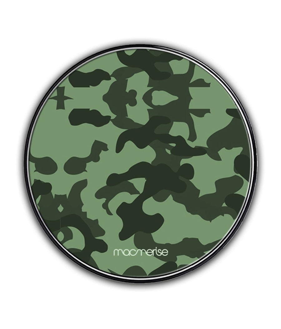 Military Green - Qi Compatible Pro Wireless Charger