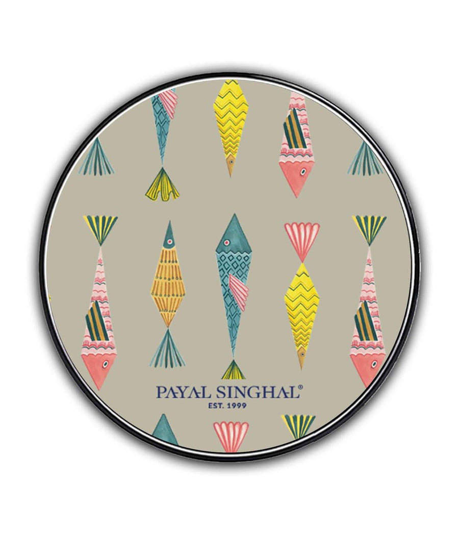 Payal Singhal Colorful Fish - Qi Compatible Pro Wireless Charger