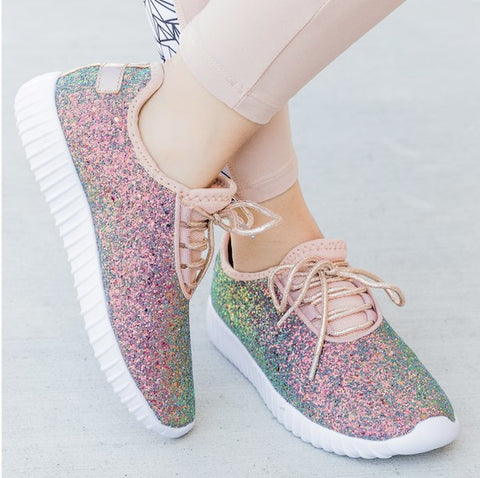 Sparkle Sneakers - Mermaid