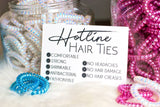 Hotline Hair Ties - Neutral Faves