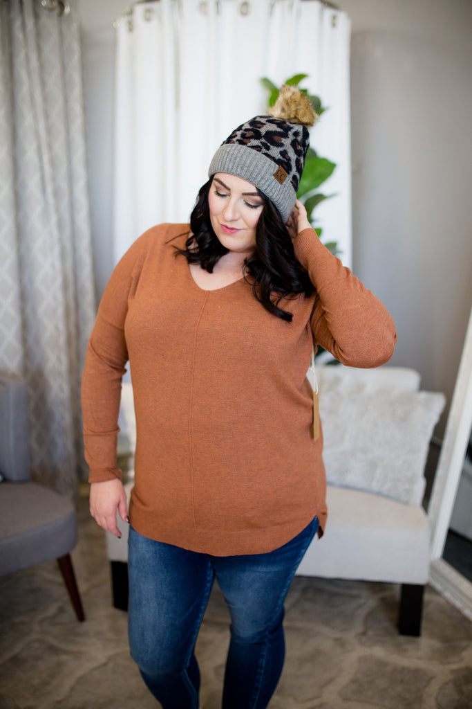 Sophie Softie Sweater - Ginger
