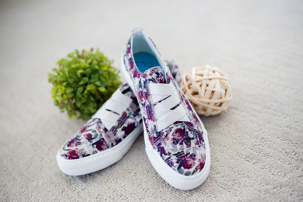 Fall Floral Marley Sneaker by Blowfish