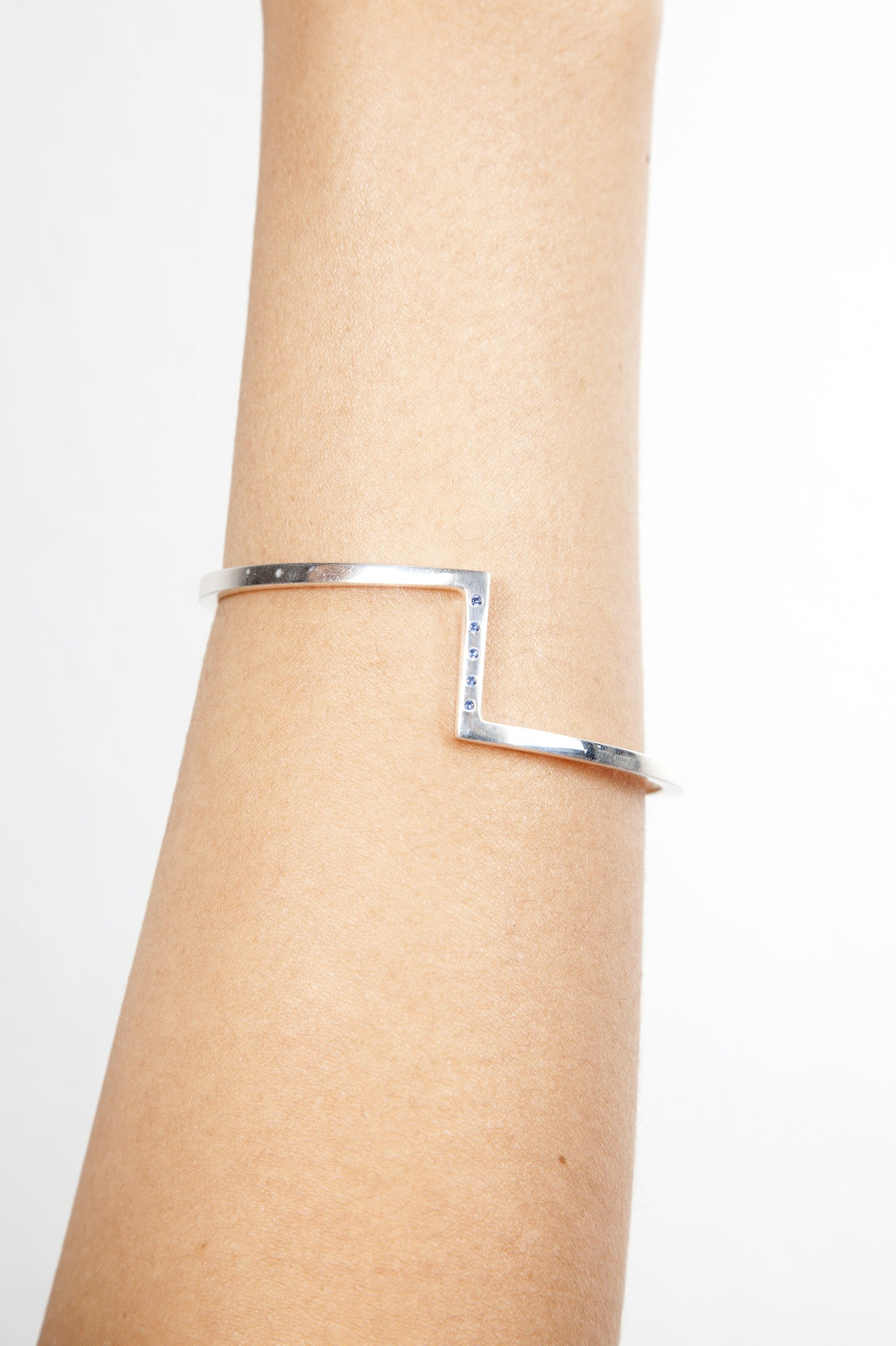 5TH FLOOR WALK UP BRACELET SILVER