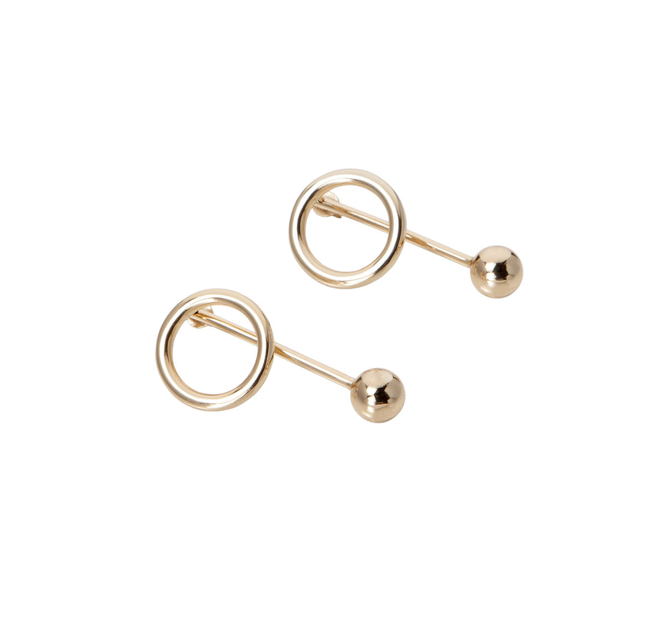 FRIENDS EARRINGS GOLD