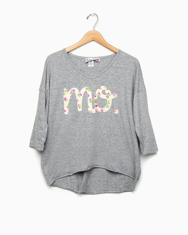Missouri Silver Velvet Sweatshirt (FINAL SALE)