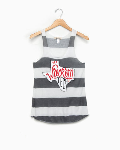 OSU Cowboys Black Lace Tanks (FINAL SALE)