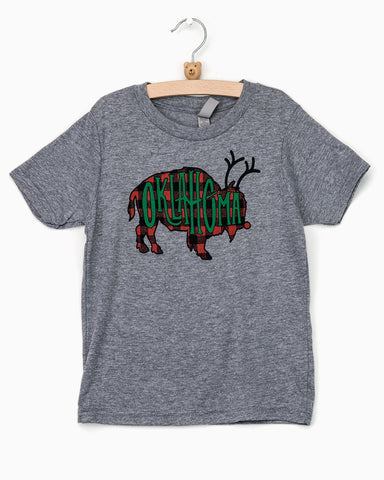 Children's Wooo Pig Sooie Block Art Tee
