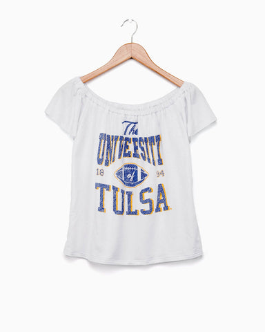 TU Classic White V-Neck Choker Tank (FINAL SALE)