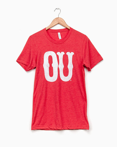Children's Sooners Barbie Baseball Sleeve Tee (FINAL SALE)