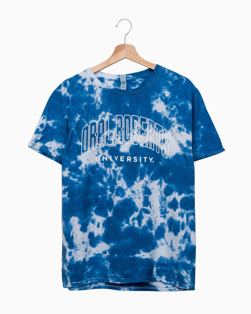 ORU Gault Blue Cloud Tie Dye Tee